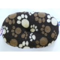 "Dog Bed Fluffy Polyester Liner Oval Cushion 39"" - 99cm Fur Cotton Lucky Pet"