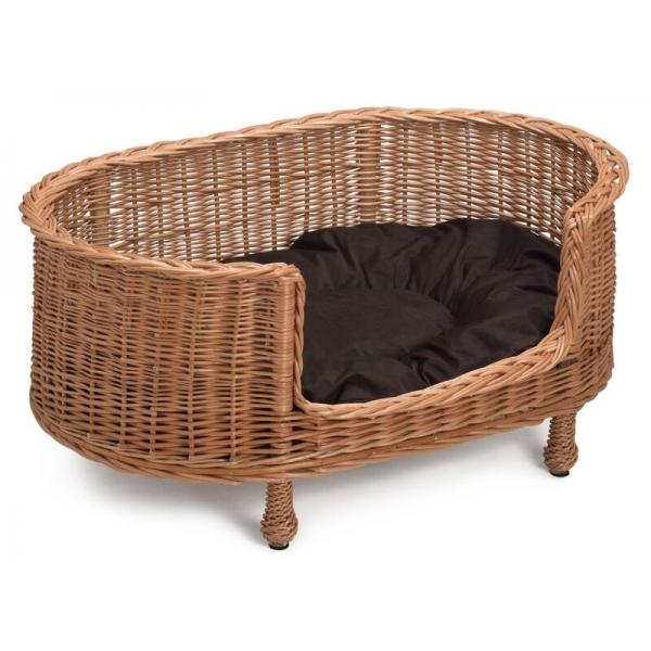 Prestige Wicker Dog Bed Basket