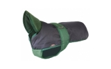 Outhwaite Blue Green underbelly padded coat 26""