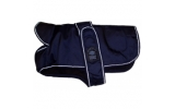 "Outhwaite Blue padded underbelly nylon 20"" coat"