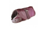 Outhwaite Maroon Unlined Dog Coat 20""