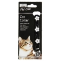 PPI Cat Collar Black Rhinestone