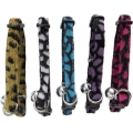 "Hem And Boo Shaved Fur Snap Free Cat Collar 3/8"" X 8-12"" (1.0cm X 20-30cm) Mixed Colours"