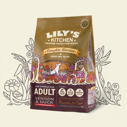 Lilys Kitchen Dog Adult Highland Venison And Duck 7kg