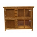 "Everyday Single 2 Tier Hutch & Run 131 X 65 X 102cm - 51"" X 25"" X 40"""