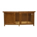 "Everyday Jumbo Single Storey Hutch 161 X 70 X 74cm - 63"" X 27"" X 29"""