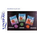 Aquarium coloured green gravel 2.5kg