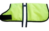 Outhwaite Yellow padded Hi Vis Dog coat 20""