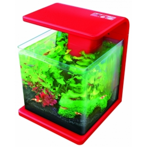 superfish wave 15 tank aquarium red 15 litre. Black Bedroom Furniture Sets. Home Design Ideas