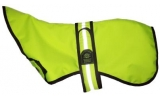 "Animate 22"" Greyhound Whippet Hi - Vis Padded Dog Coat"