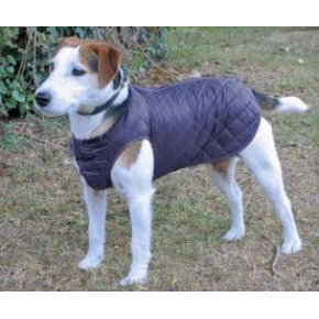 """Cosipet 28"""" - 70cm Navy Blue Quilted Step In Dog Coat"""