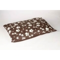 Animal Instincts Dog Mattress Brown Design Paws Small 100 x 75 x 15cm
