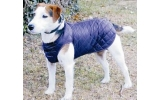 "Cosipet 24""- 60cm  Navy Blue Quilted Step In Dog Coat"
