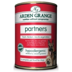 Arden Grange Partners tins Chicken & Rice 395g