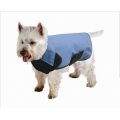 Cosipet weathermate blue dog coat 20""