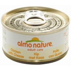 Almo Cat Chicken and Cheese 70g can
