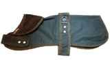"Outhwaite Green Wax unlined 28"" Dog coat"