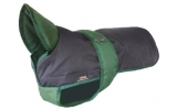 Outhwaite Blue Green underbelly padded coat 22""