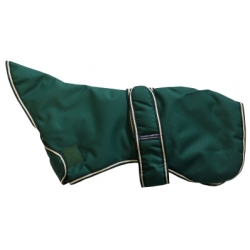 Outhwaite Whippet Green padded coat 18&quot;