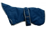 Outhwaite Navy Greyhound padded Dog coat 30""