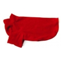 Cosipet fleece coat red 10&quot;