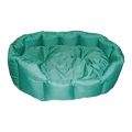 "Outhwaite Askrigg Oval Green Heavy Duty  Bed 18"" x 16"" - 46 x 41cm S1"