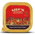 Lilys Kitchen Dog Organic Beef and Spelt 150g