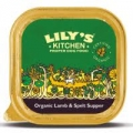 Lilys Kitchen Dog Organic Lamb and Spelt 150g