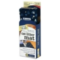 Drymate Cat Litter Mat Blue Pawcasso Medium 40x51cm