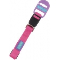 "Dog & Co Adj Collar 3/4"" x 14-18"" (1.9 x 35-45cm) Pink"