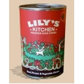 Lilys Kitchen Dog Beef Potato and Veg Dinner  400g