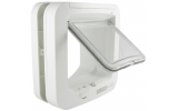 Sure Flap Microchip Cat Flap - White