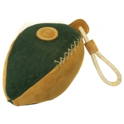 Outhwaite pet rugby ball canvas toy large
