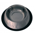 "Stainless Steel Non Tip Dog Bowl 24cm - 9.5"" My Pet"