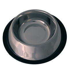Stainless Steel Non Tip Dog Bowl 30cm My Pet
