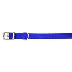 "Dog Life Soft Nylon Collar 20mm x 20"" (red or blue or black)"