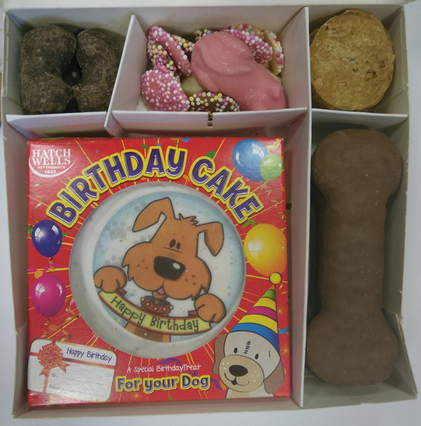 Dog Birthday Box
