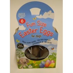 Hatchwells Fun Size Easter Eggs For Dogs 6 x 20g