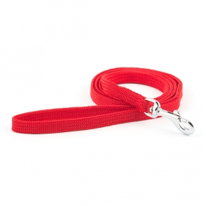 Ancol Red 10mm Soft Weave Lead 105cm