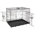 "Animal Instincts Black Comfort Crate 30"" X 19"" X 21.5"" Or 77 X 48 X 55cm Size 2"