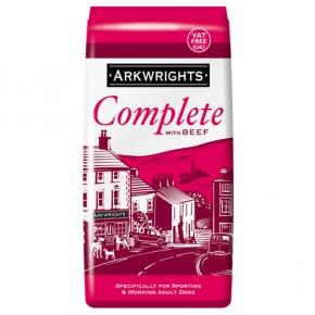 Arkwrights 15kg Beef Dog Complete