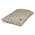 Medium Red Striped Duvet Dog Bed - Danish Design Herringbone