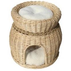 Vital oak 2 tier cat basket