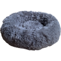 "Relaxation Calming Dog Bed Donut Medium 24"" or 60cm Hem And Boo"