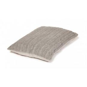 Large Grey Duvet Dog Bed - Danish Design Bobble Pewter