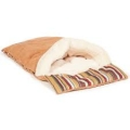 Brown Cat Sleeping Bag - Danish Design Morocco 68cm X 40cm