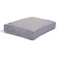 Large Blue Striped Duvet Dog Bed - Danish Design Maritime 125 X 79 X 12cm