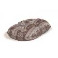 "Large+ Patterned Cushion Dog Bed - Danish Design Fairisle Bracken 89cm (35"")"
