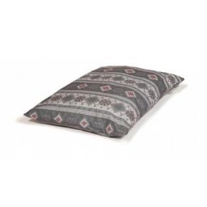 Large Patterned Duvet Dog Bed - Danish Design Fairisle Pebble