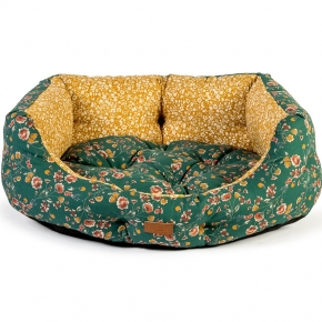 "Danish Design FatFace Meadow Floral Deluxe Slumber Pet Bed 18"" / 45cm"